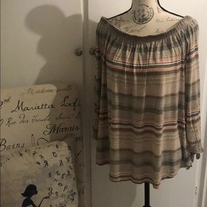 Maurices - XL - off shoulder tunic
